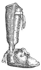 Ортопедические аппараты. Шинно-гильзовый аппарат на стопу и голень.