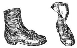 Ортопедическая обувь. Ботинки с широким носком при искривлении большого пальца стопы деформацией головки 1-й плюсневой кости.