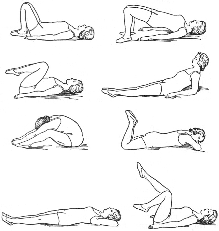 Лечебные упражнения в домашних условиях